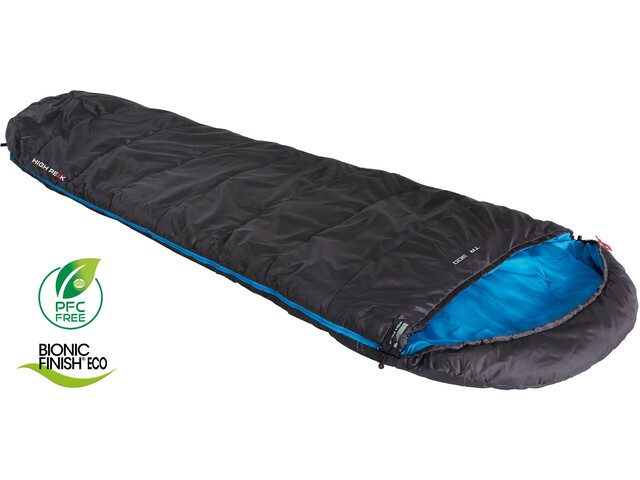 High Peak TR 300 Saco de Dormir, anthrazit/blue